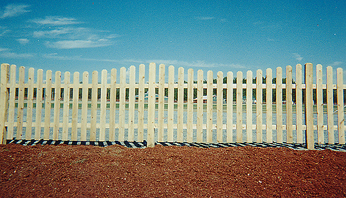 Dog Eared Picket Fence